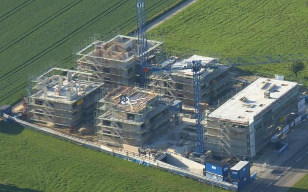 Luftaufnahme Überbauung Neudorf - CONSUS Immobilien GmbH - Luzern