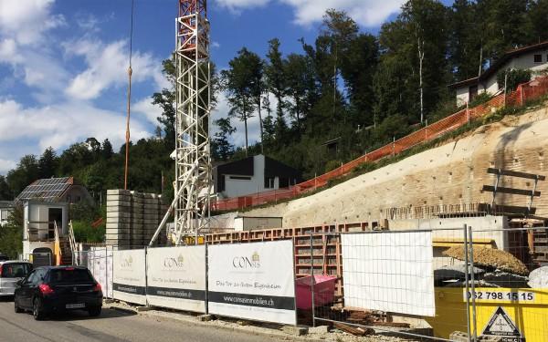 Baustart erfolgt - 2MFH - Oftringen - CONSUS Immobilien GmbH - Luzern