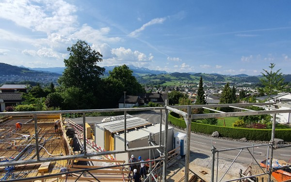 Baustart erfolgt - 2MFH SONNENBERG - CONSUS Immobilien GmbH - Luzern