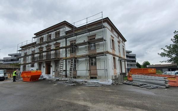 Baustart erfolgt - Villa Weber Aarburg - CONSUS Immobilien GmbH - Luzern